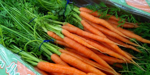 UK Bunched Carrots (10's)