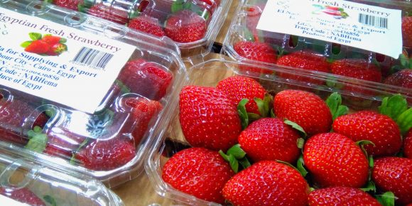 Egyptian Strawberries (10 x 250g)